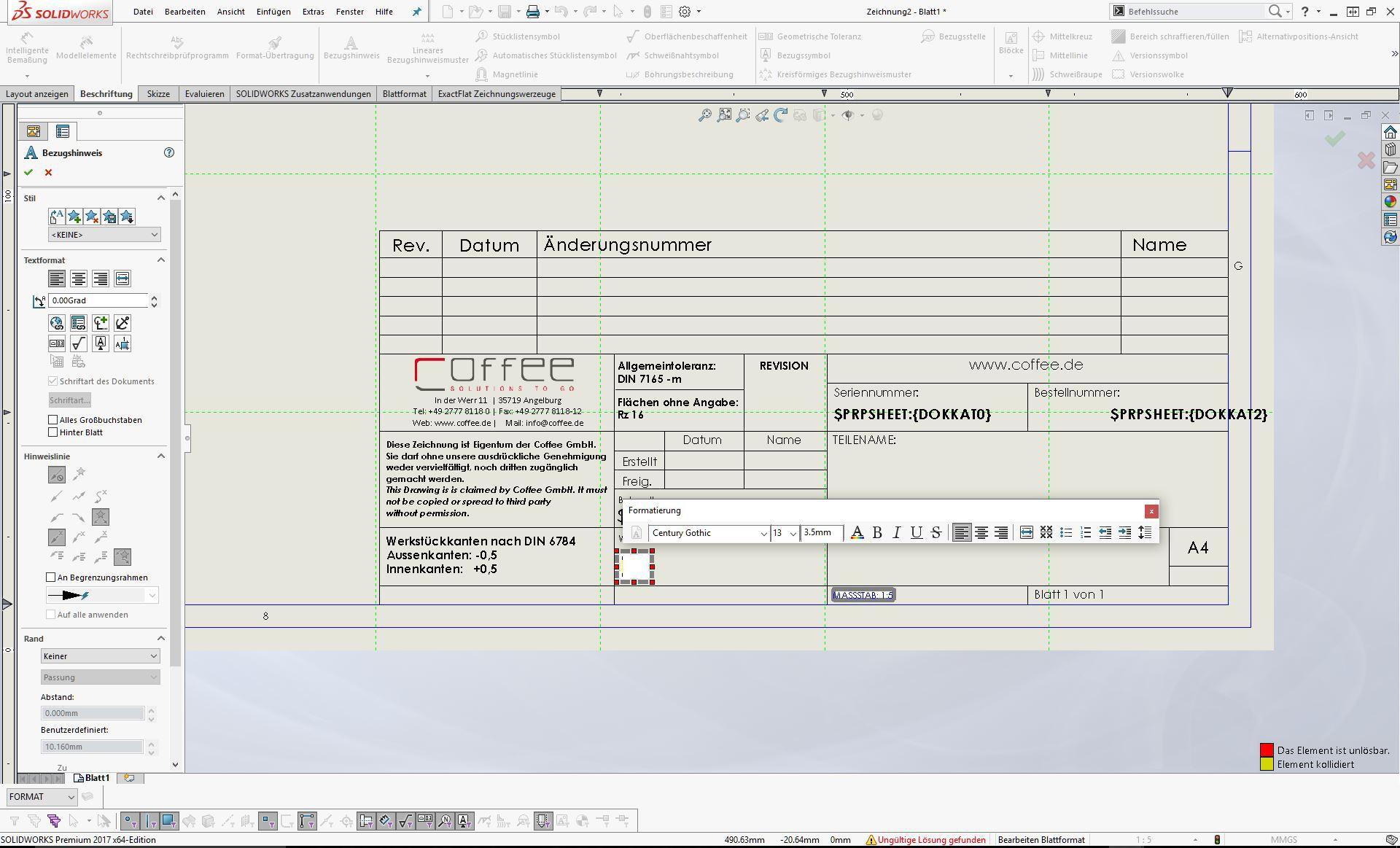 SOLIDWORKS TIPP: Dateieigenschaften in den Zeichnungsschriftkopf ...