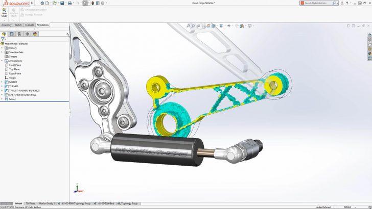 Mit der SOLIDWORKS Simulation Topologiestudie zum perfekten 3D-gedruckten Bauteil