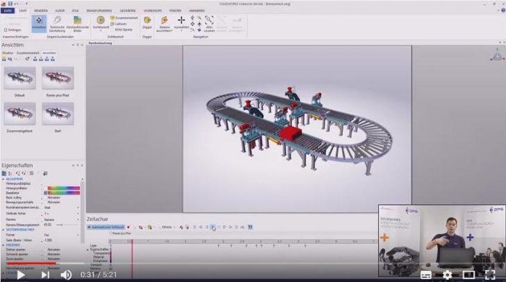 Video-Tipp! Wechsel zwischen verschiedenen Kameras im SOLIDWORKS Composer