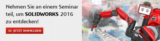 SOLIDWORKS 2016 Kostenlose Seminare