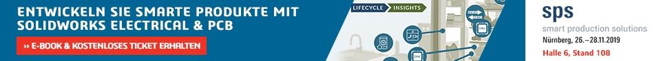 SOLIDWORKS Electrical und EPLAN Electric P8® Projektkonvertierung auf der SPS