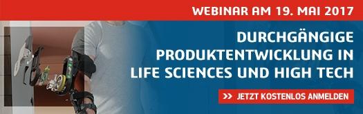 Durchgängige Produktentwicklung in Life Sciences und High-Tech