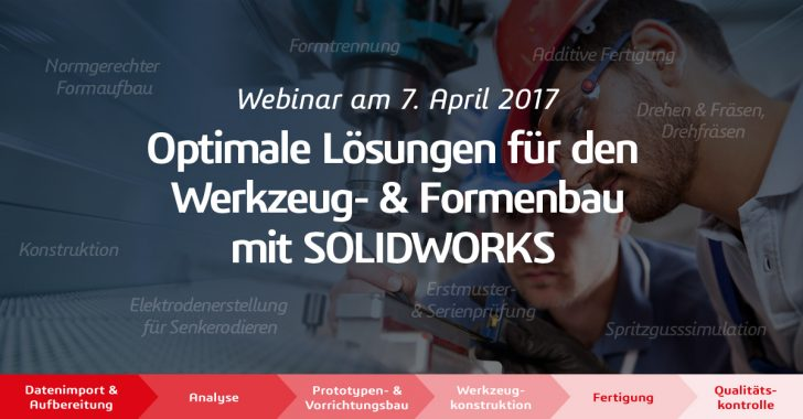 Webinar: Optimale Lösungen für den Werkzeug- und Formenbau mit SOLIDWORKS