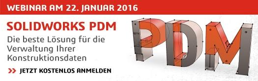 22 Minuten Webinar: SOLIDWORKS PDM: Die beste Lösung für die Verwaltung Ihrer Konstruktionsdaten