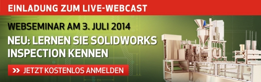 SOLIDWORKS Inspection Webcast