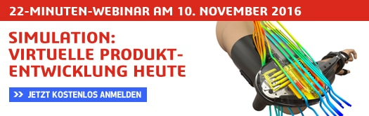 22-MINUTEN-WEBINAR: Simulation - Virtuelle Produktentwicklung heute