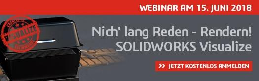 Webinar: Nich' lang Reden – Rendern! SOLIDWORKS Visualize