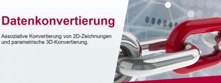 Komplexe Autodesk Inventor 2D/3D Daten nach SOLIDWORKS konvertieren