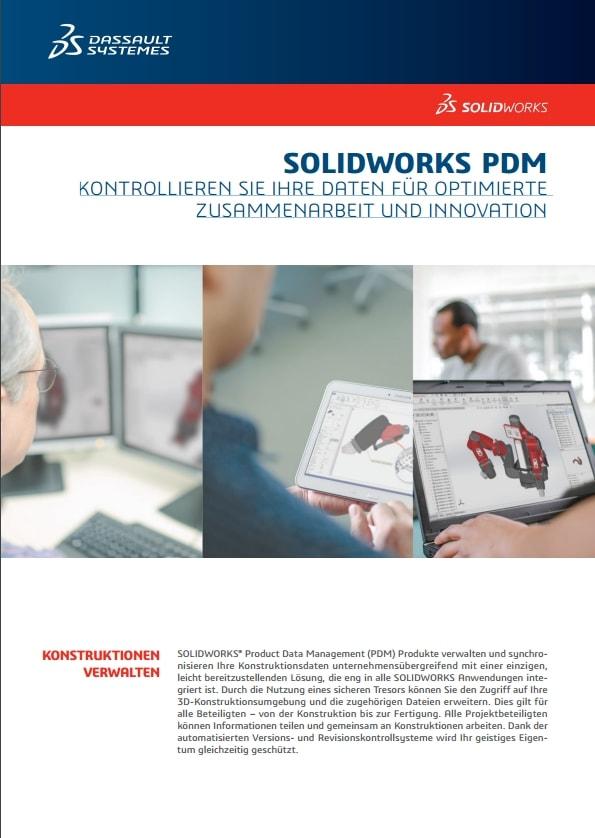SOLIDWORKS PDM 2016: Kontrollieren Sie Ihre Daten für optimierte Zusammenarbeit und Innovation