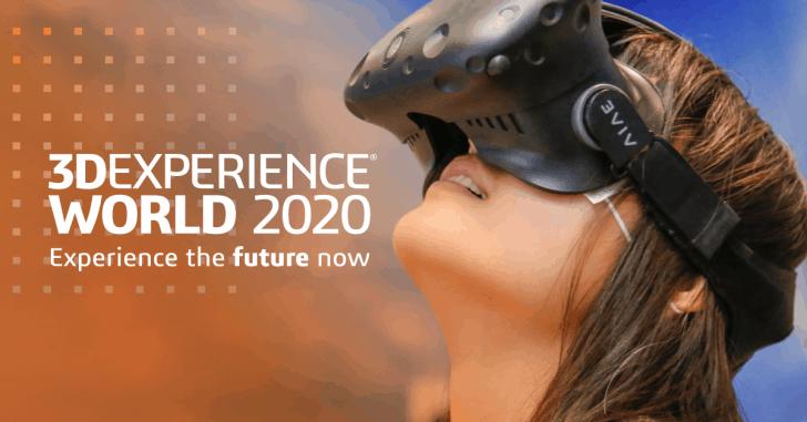 3DEXPERIENCE World 2020: Kreieren Sie Ihre Agenda
