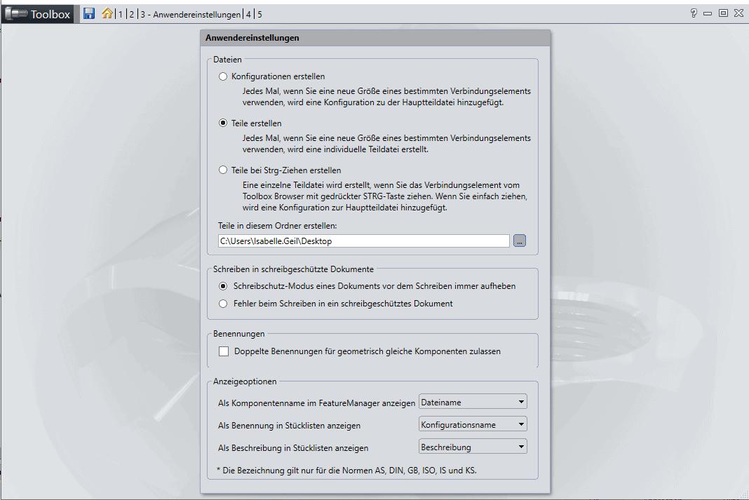 Vermeidbare Fehler bei der Konstruktion: Toolbox nicht konfigurationsgesteuert