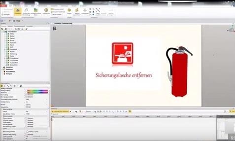 Video-Tipp! Feuer löschen mit SOLIDWORKS Composer
