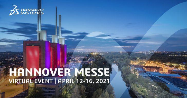 Hannover Messe 2021: Besuchen Sie unseren digitalen Dassault Systèmes Stand vom 12. – 16. April