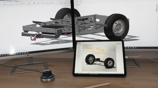 SOLIDWORKS am iPad