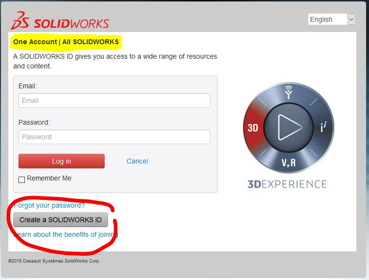 SOLIDWORKS ID