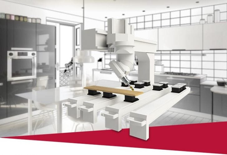 Individuelle Möbelplanung und -konstruktion mit SWOOD für SOLIDWORKS
