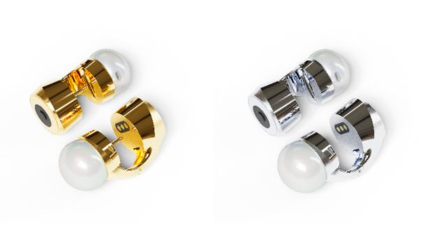 NOVA H1 Ohrringe in Gold und Silber