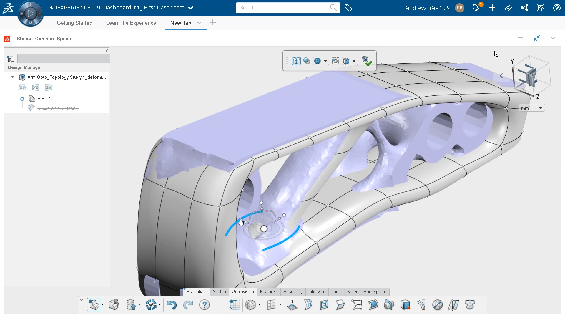 Reverse Engineering in 3D Sculptor