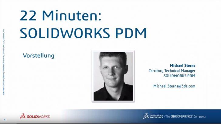 Webcast-Aufzeichnung: Konstruktionsdaten in den Griff bekommen mit SOLIDWORKS PDM