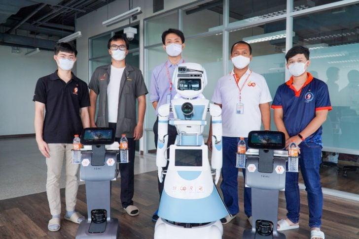 FIBO verwendet SOLIDWORKS für die Konstruktion und den Bau von Servicerobotern zur Unterstützung während COVID-19