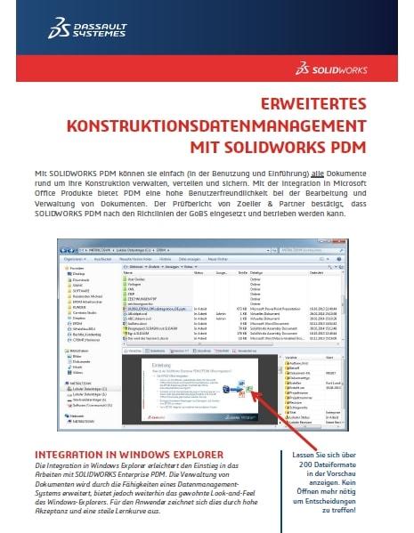 Erweitertes Konstruktionsdatenmanagement mit SOLIDWORKS PDM – Ratgeber
