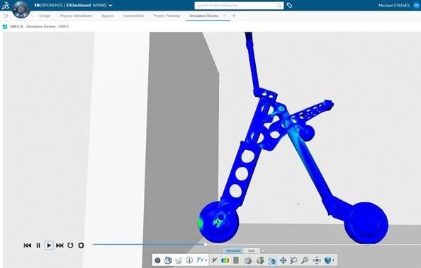 Erweiterung der SOLIDWORKS Simulationsfähigkeiten mit 3DEXPERIENCE Works Simulation