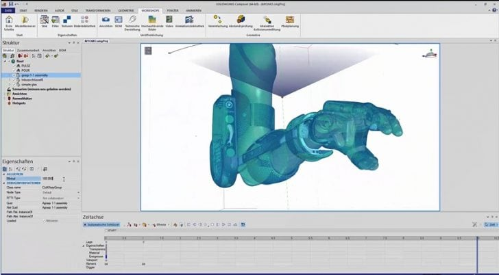 SOLIDWORKS Composer Animations-Serie Teil 2 – PRODUKTION