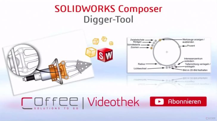 Video-Tipp! SOLIDWORKS Composer Digger Tool – Mehr als nur eine Lupe – Teil 1