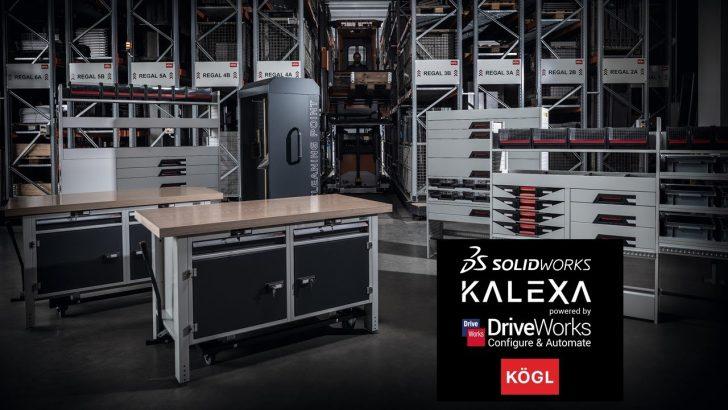 KÖGL setzt bei automatisierten Sonderlösungen auf SOLIDWORKS und DriveWorks