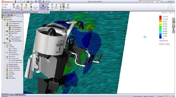 Beschleunigung des mechanischen Konstruktionsprozesses durch integrierte Strömungssimulation – Ratgeber