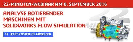 SOLIDWORKS Flow Simulation Webinar August 2016