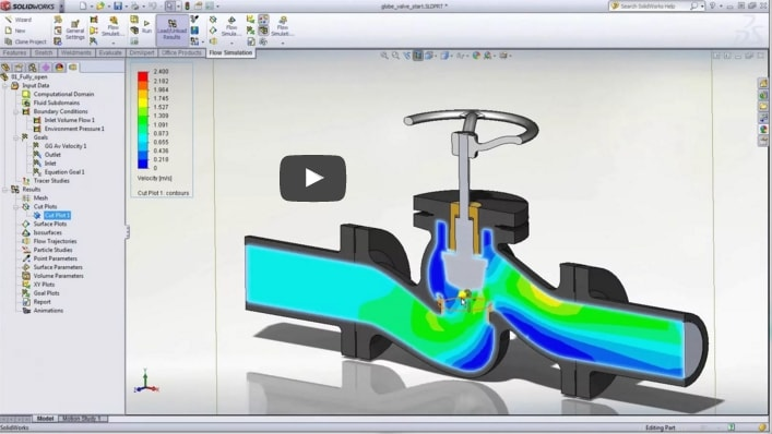 Video-Tipp! SOLIDWORKS Flow Simulation – Kurzüberblick