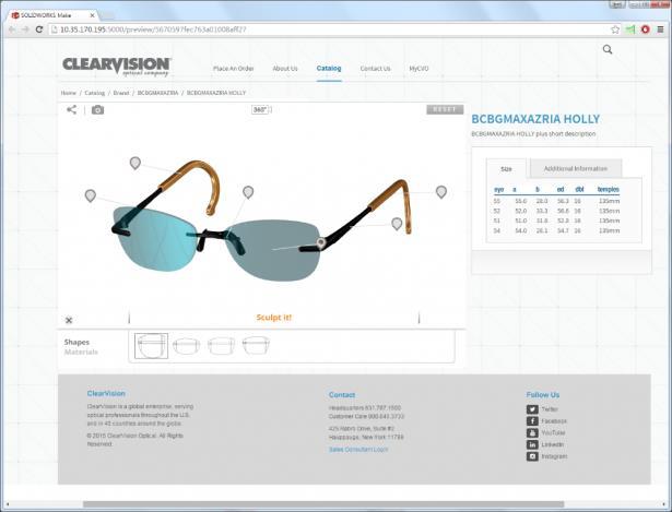 Mit SOLIDWORKS Make können Kunden Produkte personalisieren