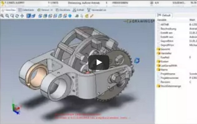 Screencast: PDM – Die beste Lösung für die Verwaltung Ihrer Konstruktionsdaten
