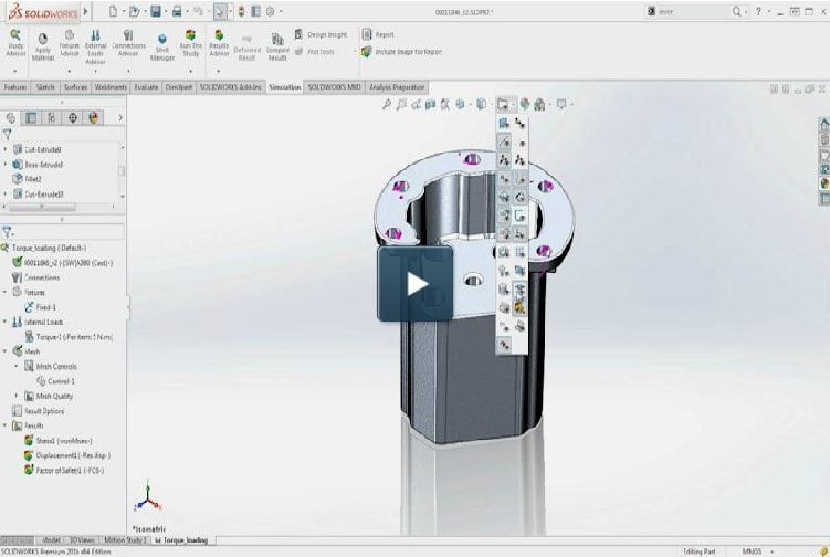 What'twere New in SOLIDWORKS Simulation 2016
