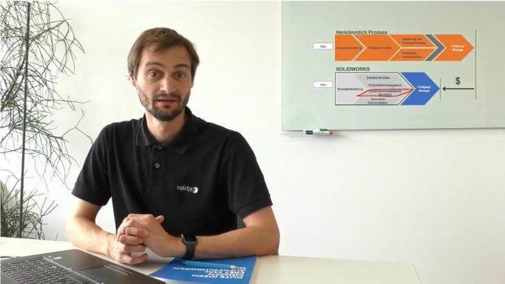Videobeiträge zur Anwendung der Simulationswerkzeuge in SOLIDWORKS