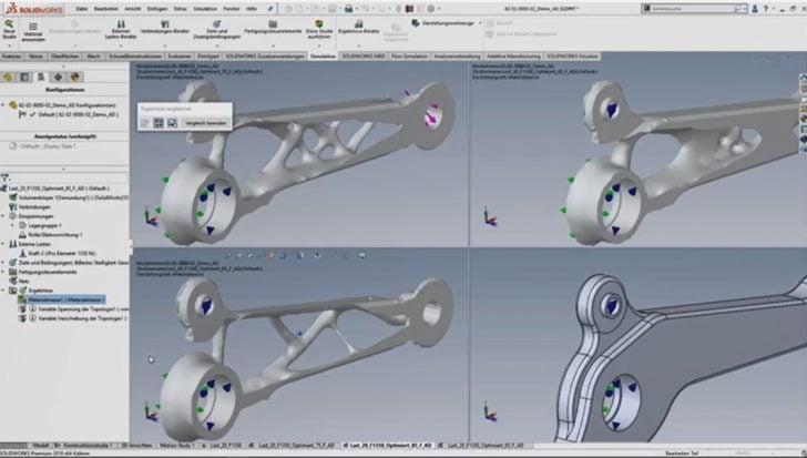 Video-Tipp! SOLIDWORKS Tipps & Tricks – Topologieoptimierte Teile frisch aus dem 3D-Drucker