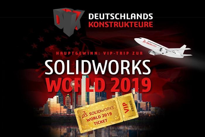 Deutschlands Konstrukteure: Mit SolidLine zur SOLIDWORKS World 2019