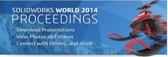 SOLIDWORKS World 2014 Präsentationen jetzt verfügbar