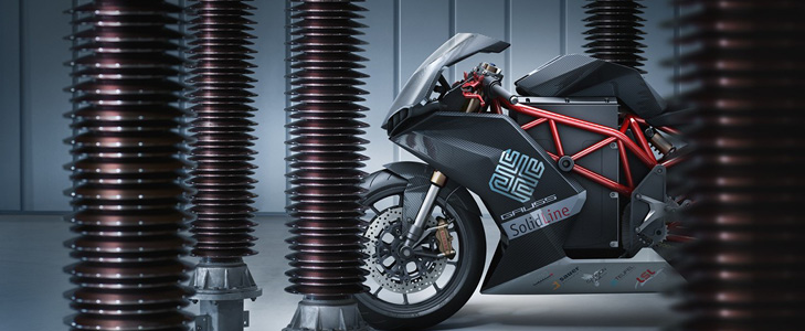 "Das Elektro-Superbike ""GAUSS"""