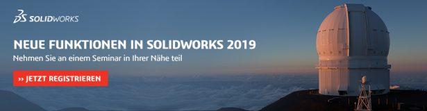 Nehmen Sie an einem Seminar zu SOLIDWORKS 2019 in Ihrer Nähe teil
