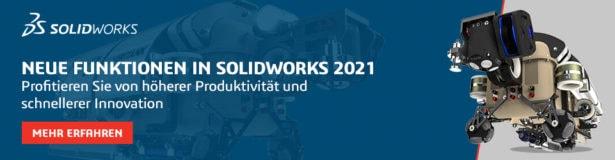 [Live-Event] Entdecken Sie die neuen Funktionen in SOLIDWORKS 2021 im Live-Stream am 23.September
