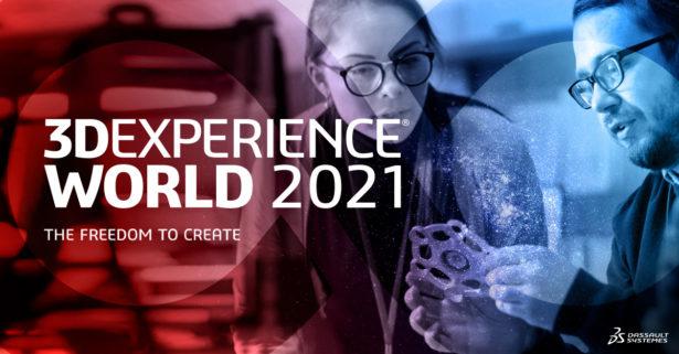 3DEXPERIENCE World 2021 - Alle Infos im Überblick