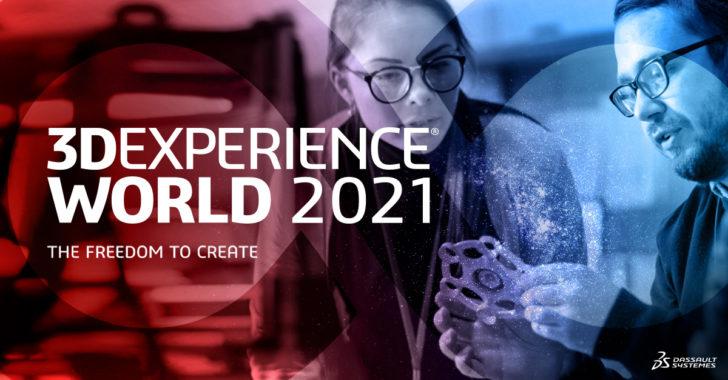 3DEXPERIENCE World 2021 – Alle Infos im Überblick
