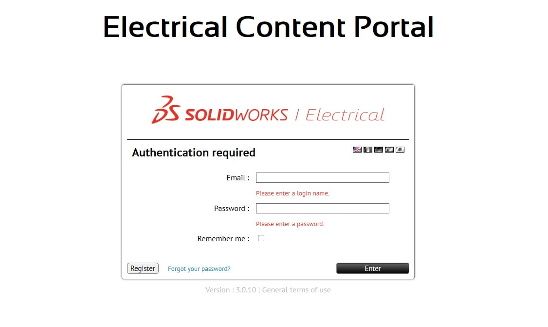 SolidLine Artikeldate aus dem Electrical Content Portal herunterladen