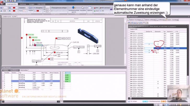 Video-Tipp! SOLIDWORKS Inspection – Einführung in die CMM Daten Oberfläche