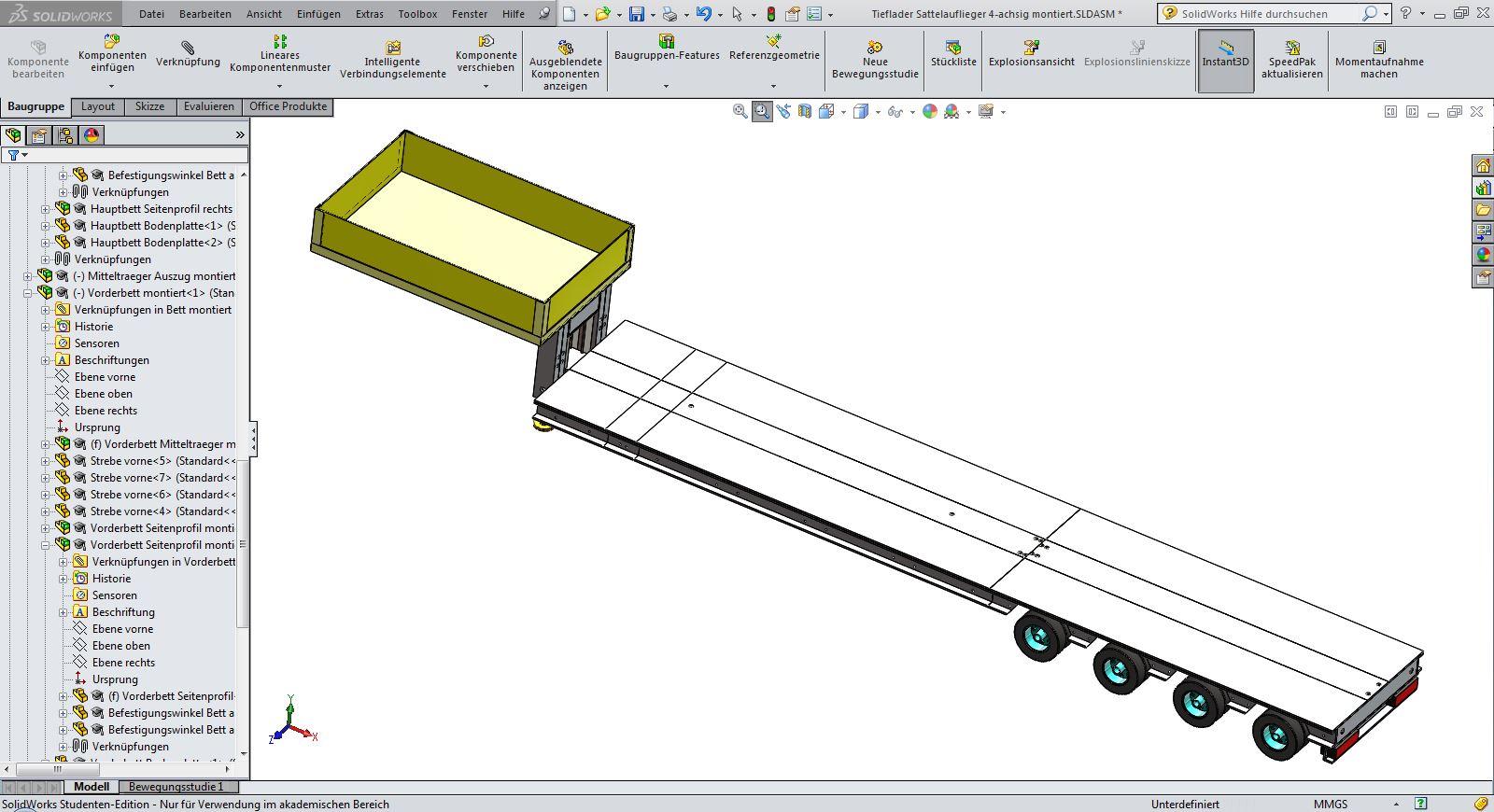 rc trucks entwickelt mit solidworks. Black Bedroom Furniture Sets. Home Design Ideas