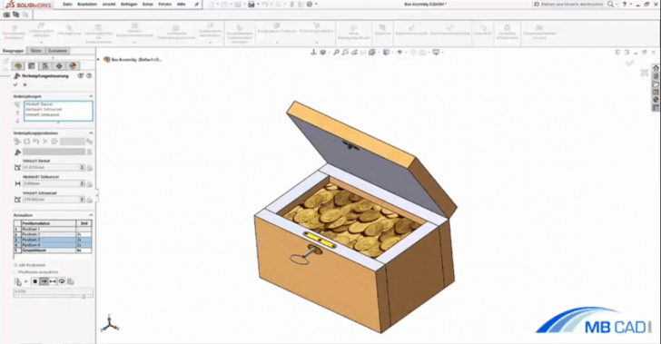 Video-Tutorial: Verknüpfungssteuerung in SOLIDWORKS