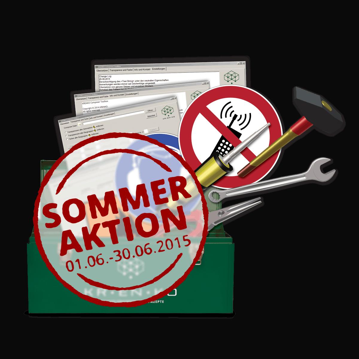 Tipp! Die Composer Toolbox Sommeraktion bei KRENKO