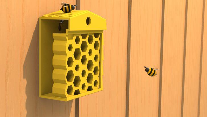 Tutorial: 3D-Druck eines Bienenhotels